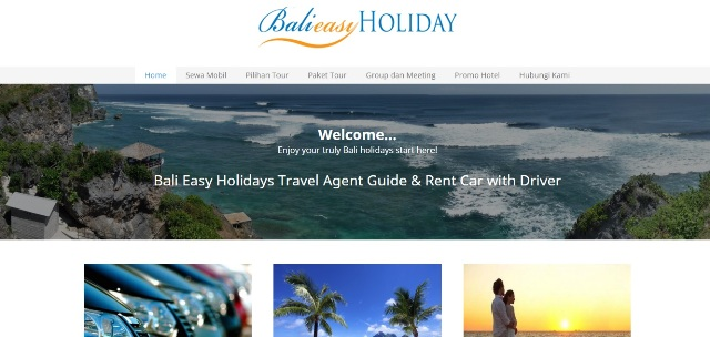 Seo Website Travel and Tour di Bali