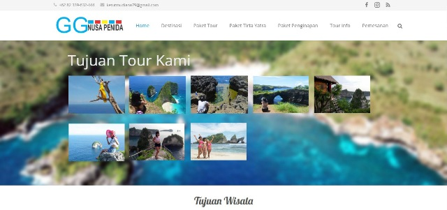 Seo Website Nusa Penida Tour Travel